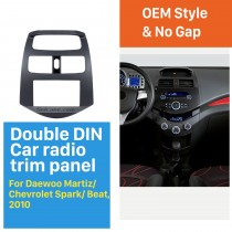 2 DIN 2010 Daewoo Martiz Chevrolet Spark Beat Car Radio Fascia Stereo Dashboard Installation Frame Trim Panel