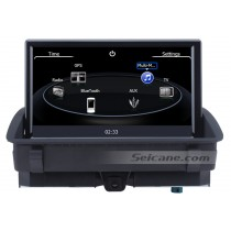 Aftermarket OEM Audi Q3 Head Unit Stereo Sat-Nav system with 8 inch Touch Screen USB SD Ipod CANBUS AUX