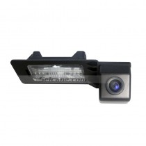 170° HD Waterproof Blue Ruler Night Vision Car Rearview Camera for 2010 2011 Audi A4L Q5 free shipping