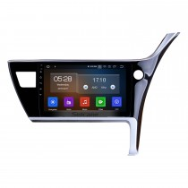 10.1 inch Android 9.0 2017 Toyota Corolla Right Hand driving Car Head unit HD Touchscreen Radio GPS Navigation System Support 3G/4G Wifi Steering Wheel Control Vedio Carplay Bluetooth DVR