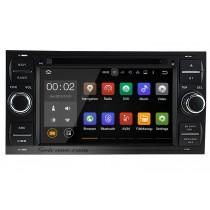 1024*600 Touchscreen 2000-2010 Ford focus Android 5.1.1 Radio DVD GPS navigation system with Mirror Link Bluetooth Rearview Camera 1080P 3G WIFI Steering Wheel Control OBD2 DVR