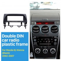 1DIN 2002-2007 Mazda 6 Atenza Car Radio Fascia Audio Stereo Dashboard Surrounded Installation Frame Trim Panel Kit Face Plate