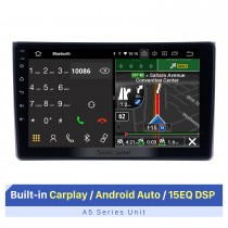 9 Inch HD Touchscreen for 2002-2008 Audi A4 Radio Car Audio with GPS Car Radio Repair Support Steering Wheel Control