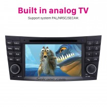 Car DVD player for Mercedes-Benz CLK-W209 with GPS Radio TV Bluetooth
