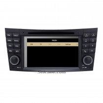 Car DVD player for 2002-2008 Mercedes-Benz E-Class W211 with GPS Radio TV Bluetooth