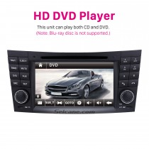 Car DVD player for 2004-2011 Mercedes-Benz CLS-W219 with GPS Radio TV Bluetooth