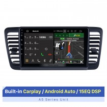 9 Inch HD Touchscreen for 2004-2009 Subaru Legacy Autoradio Car Audio with GPS Car Radio Support Multiple OSD Languages