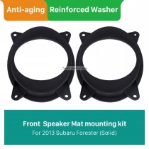 Solid Front Ring Speaker Mat Bracket for 2013 Subaru Forester