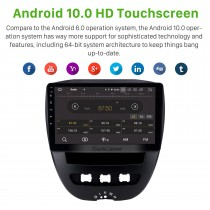 10.1 inch Android 10.0 Radio for 2005-2014 Citroen Bluetooth Wifi HD Touchscreen GPS Navigation Carplay USB support TPMS Steering Wheel Control