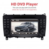 7 inch Car DVD player for 2006-2011 Mercedes-Benz CLK W209 with GPS Radio TV Bluetooth