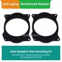 Car Rear Speaker Mat Plates Bracket for 2006-2011 Toyota Camry/Corolla (change 6×9 to 6.5)