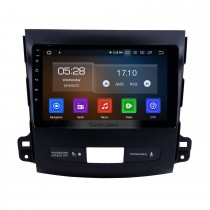 9 Inch Android 10.0 Touch Screen radio Bluetooth GPS Navigation system for 2006-2014 Mitsubishi OUTLANDER Support TPMS DVR OBD II USB SD 3G WiFi Rear camera Steering Wheel Control HD 1080P Video AUX