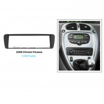 Classic 1Din 2006 Citroen Picasso Car Radio Fascia Trim Dash CD Frame Surround Panel DVD Player