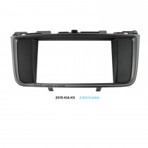 178*100mm 2Din 2015 KIA K5 Car Radio Fascia Installation Kit CD Trim Surround Panel DVD Frame
