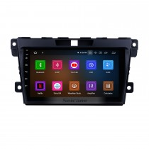 9 inch Android 10.0 GPS Navigation Radio System for 2007 2008 2009 2010 2011 2012 2013 2014 Mazda CX-7 with Multi-touch Screen Mirror Link OBD DVR Bluetooth Rearview Camera TV USB 3G WIFI
