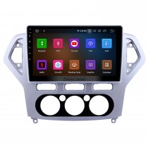 10.1 inch Android 10.0 Radio for 2007-2010 Ford Mondeo-Zhisheng Manual A/C Bluetooth Wifi Touchscreen GPS Navigation Carplay support Digital TV
