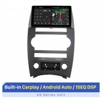 9 Inch HD Touchscreen for 2007-2008 Jeep Commander Stereo Car DVD Player Upgrade Car Radio Support OBD2