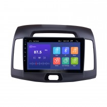 9 inch 2007-2011 Hyundai Elantra Android 9.0 Radio GPS Navigation System with Mirror link Bluetooth OBD2 DVR digital TV TPMS Steering Wheel Control