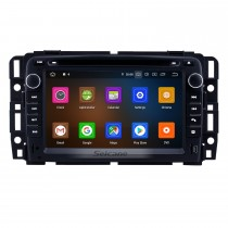 7 Inch Android 10.0 HD Touchscreen Radio Head Unit For 2007-2012 General GMC Yukon Chevy Chevrolet Tahoe Buick Enclave Hummer H2 Car Stereo GPS Navigation System Bluetooth Phone WIFI Support Digital TV DVR USB DAB+ OBDII Steering Wheel Control