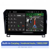 10.1 inch HD Touchscreen for 2008-2015 TOYOTA Sequoia GPS Navigation System car dvd player with wifi support Carplay