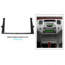 Beautiful Double Din 2008 HYUNDAI AZERA TG AV Car Radio Fascia Dash CD Install Frame Stereo Plate Frame Panel
