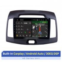 9 inch 2007-2011 Hyundai Elantra Android 10.0 Radio GPS Navigation System with Mirror link Bluetooth OBD2 DVR digital TV TPMS Steering Wheel Control