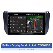 9 Inch HD Touchscreen for 2009-2012 Changan Alsvin V5 Autoradio Carplay Stereo System Car Audio System Support Multiple OSD Languages