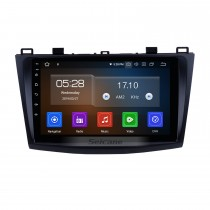9 Inch For 2009-2012 Mazda 3 Axela HD Touch Screen GPS Navigation System Android 10.0 Support Bluetooth Rear camera Steering Wheel Control DVR OBD II