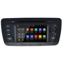 OEM 2009-2013 Seat ibiza Android 5.1.1 Radio HD 1024*600 Touch screen Bluetooth DVD GPS navigation system Rearview camera TV 1080P WIFI Steering Wheel Control Mirror link