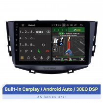Android 10.0 for 2011-2016 Lifan X60 Car Audio System Touch Screen with Built-in Carplay Support Bluetooth GPS Navigation Steering Wheel Control