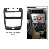 202*102mm Double Din 2012 Toyota Avanza Veloz Car Radio Fascia Installation Frame Surround Panel Face Plate