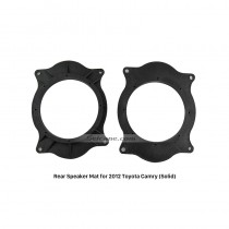 Auto Car Soild Rear Speaker Mat Modification Bracket for 2012 Toyota Camry
