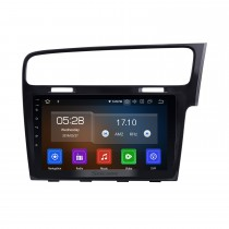10.1 inch  Android 10.0 For 2013 2014 2015 VW Volkswagen Golf 7 RHD Radio GPS Navigation Car stereo with 1024*600 Touchscreen Mirror Link OBD2 Steering Wheel Control Rearview Camera