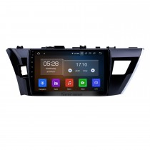 10.1 inch Android 10.0 For 2013 2014 Toyota Corolla LHD Radio Aftermarket Navigation System 3G WiFi Mirror Link OBD2 Bluetooth Music Backup Camera Steering Wheel Control HD 1080P Video
