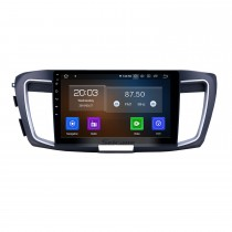 10.1 inch Android 10.0 Radio for 2013 Honda Accord 9 High version Bluetooth Touchscreen GPS Navigation Carplay USB support OBD2 SWC