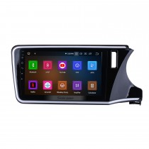 10.1 inch Android 10.0 HD Touch Screen radio GPS navigation System for 2014 2015 2016 2017 Honda CITY RHD with Bluetooth Music Mirror Link OBD2 3G WiFi Backup Camera 1080P Video AUX Steering Wheel Control