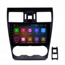 9 inch HD Android 10.0 Radio Capacitive Touch Screen for 2014 2015 2016 Subaru Forester Support 3G WiFi Bluetooth GPS Navigation system TPMS DAB DVR OBD II AUX Headrest Monitor Control Video Rear camera USB SD