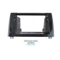 Beautiful Double Din 2014 Toyota Tundra Car Radio Fascia Panel Kit Face Plate Audio Cover Frame