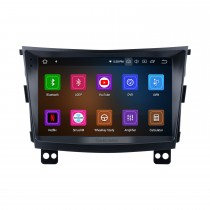 Android 10.0 HD Touchscreen 9 inch 2015 SSANG YONG Tivolan Radio GPS Navigation System with Bluetooth support Carplay