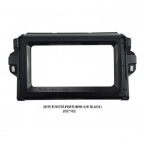 202*102mm Double Din 2015 Toyota Fortuner Car Radio Fascia Audio Frame Cover Dash Mount DVD Panel