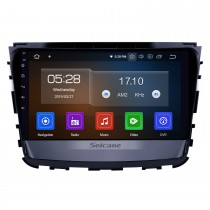 10.1 inch Android 9.0 Radio for 2019 Ssang Yong Rexton Bluetooth HD Touchscreen GPS Navigation Carplay USB support TPMS Backup camera DAB+