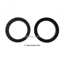 "5"" Ring Plane Speaker Mat Plates Bracket for Universal"
