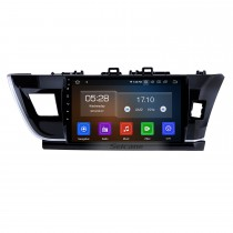 10.1 inch Android 9.0 HD touch screen car multimedia GPS navigation system for 2014 Toyota Corolla RHD with Bluetooth Radio Mirror link Rear view camera TV USB OBD DVR 4G WIFI
