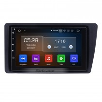 7 inch Android 9.0 Car Stereo GPS Navigation System for 2001-2005 Honda Civic with WiFi Bluetooth 1080P HD Touchscreen AUX FM support Mirror Link OBD2 SWC