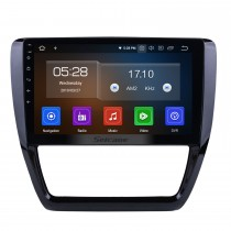 10.1 inch HD Touchscreen Android 9.0 Radio for 2012-2015 VW Volkswagen SAGITAR GPS Navigation Bluetooth Phone WIFI SWC USB Carplay Rearview OBD2