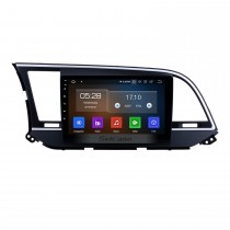 9 inch aftermarket Android 9.0 HD Touchscreen Head Unit GPS Navigation System For 2016 Hyundai  Elantra LHD with USB Support OBD II DVR  3G/4G WIFI Rearview Camera