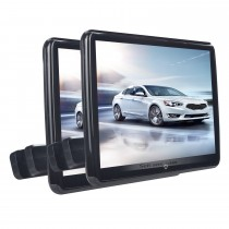 Android 6.0 2x10.6 inch HD 1024*600 IPS Touchscreen Free Tilt Headrset High Definition Radio MP5 Radio with USB Bluetooth Music Phone IR Infrared FM Transmitter Mirror Link