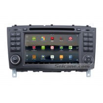 Android 7 Inch Car DVD Player for Mercedes-Benz C-Class W203(Touchscreen,GPS,TV,Ipod, 3G,Wifi)