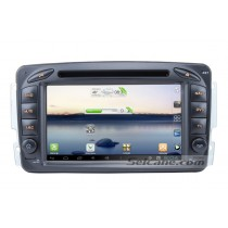 Android 7 Inch Car DVD Player for Mercedes-Benz C Class W203(Touchscreen,GPS,TV,Ipod, 3G,Wifi)