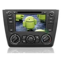 Android 4.4.4 BMW E81 1 Series head unit DVD player GPS navigation system with 3G Wifi Radio Bluetooth